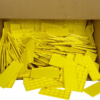 BOX OF YELLOW