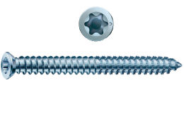 Screw big head for windows frame