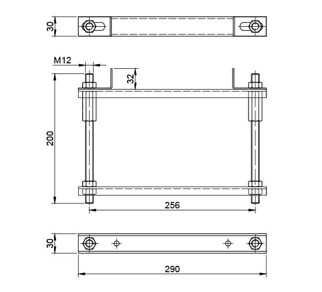 bracket for heavy doors