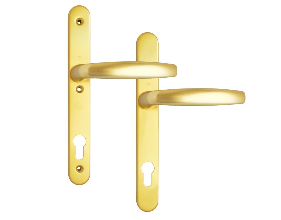 Hoppe Atlanta Gold Lever door handle