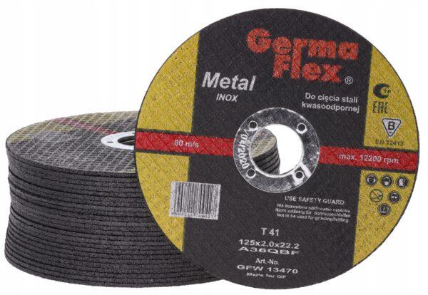 Metal Cutting Disc 115 and 125 TIN 1mm (2)