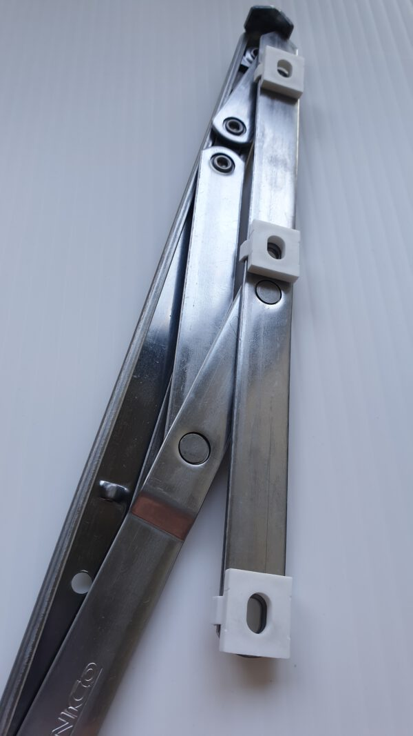 window hinges with packers