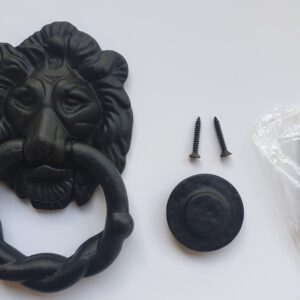 Antique Style Lion Head Knocker