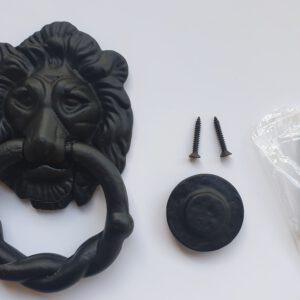 Antique Style Lion Head Knocker