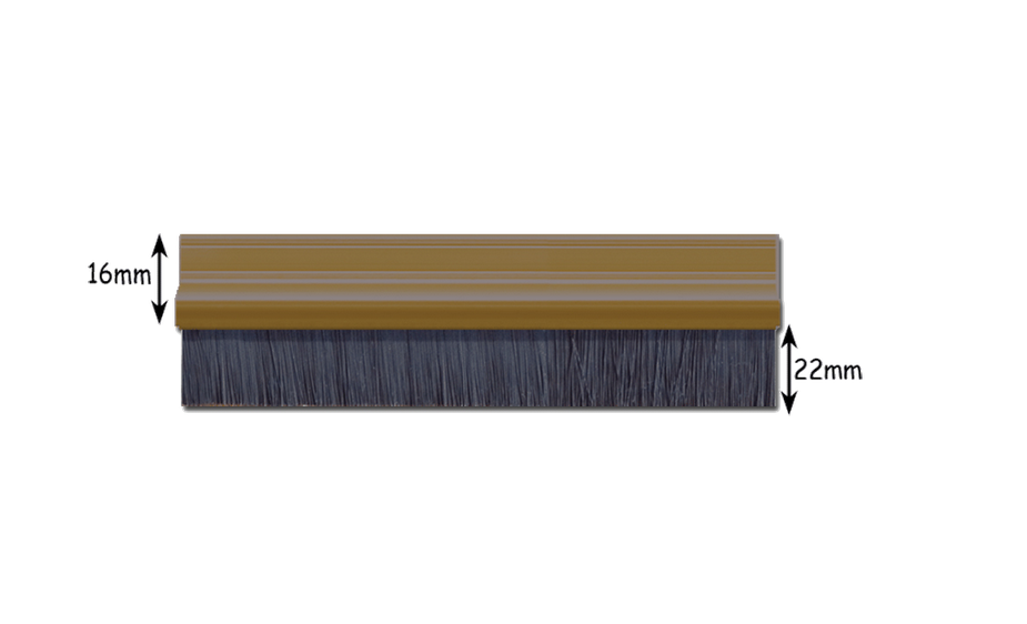 Door Brush Strip measurement