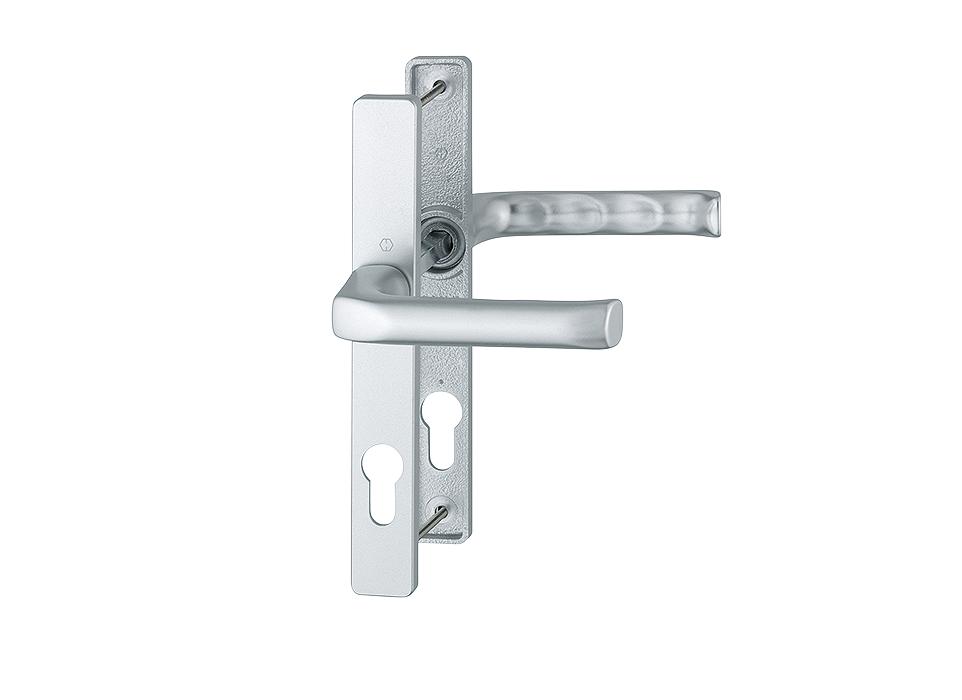 Door handle Hoppe London silver