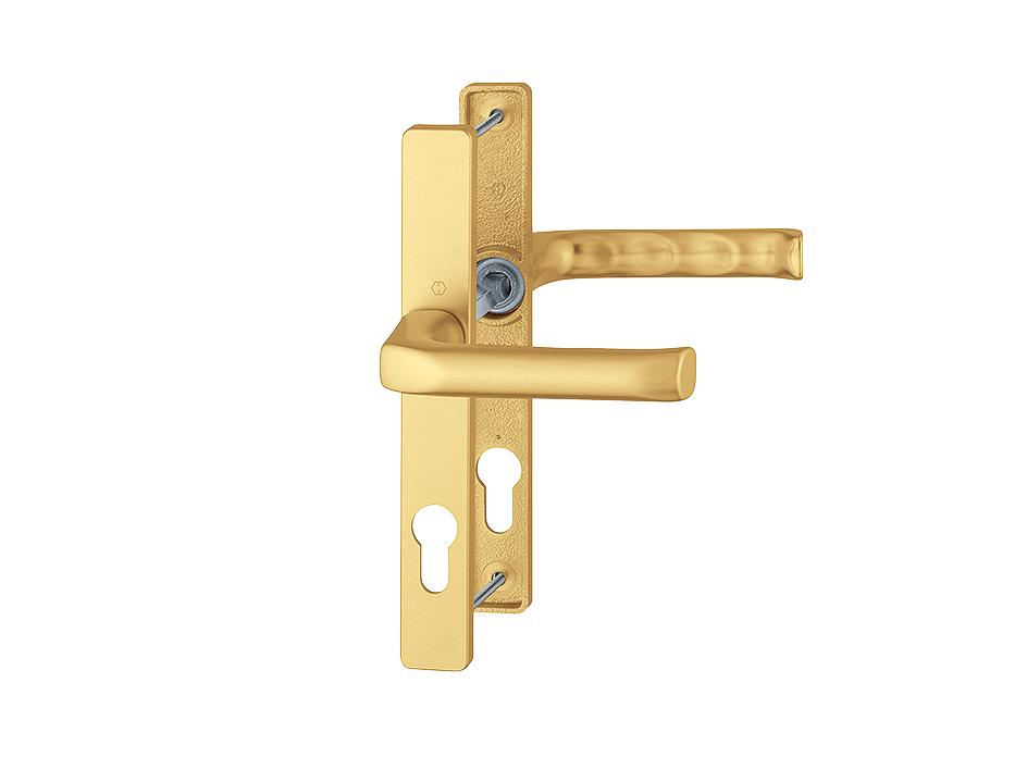 Door handle London Hoppe gold