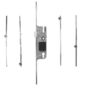 Gu Eurosash door lock espag 45 92 4 rollers
