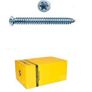 Big Head concrete screw box yellow