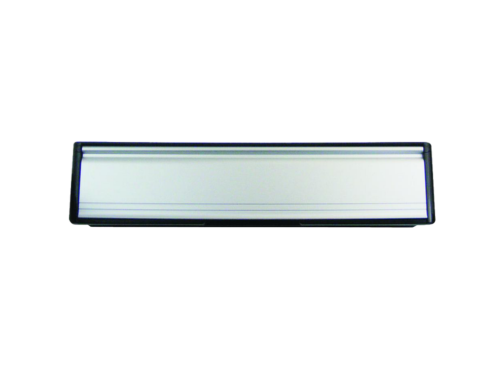 Letterbox 305 mm 12 inch Silver