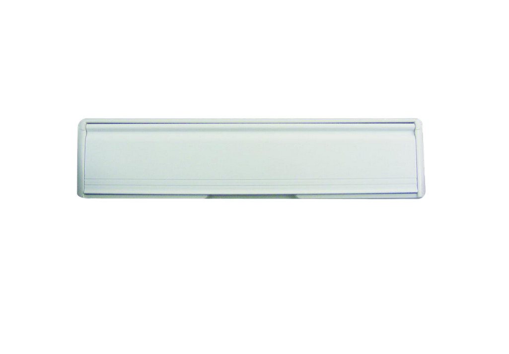 Letterbox 305 mm 12 inch White