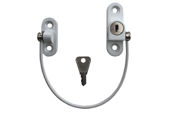 Cable restrictor for windows