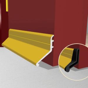 Door deflector