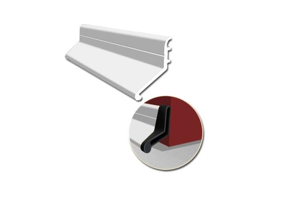 Door deflector silver