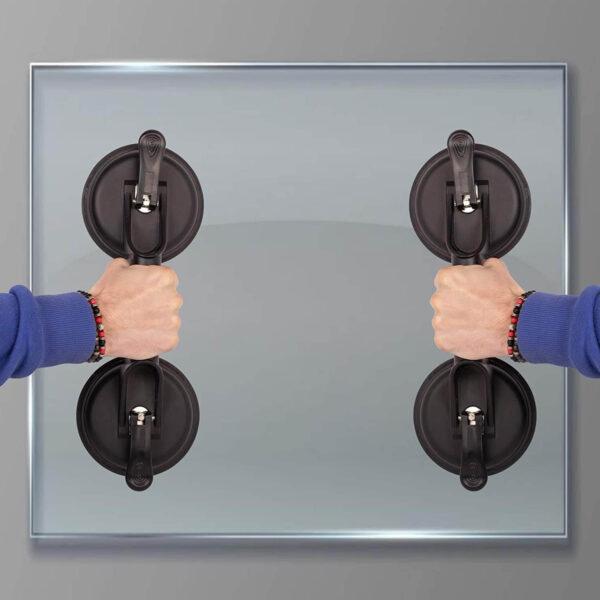 Glass holder lifter