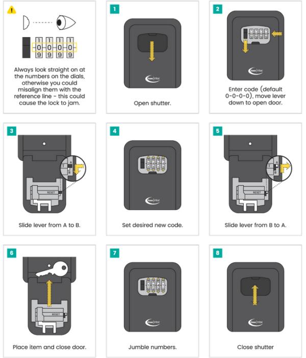 Keys safe details