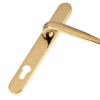 Offset door handle Gold