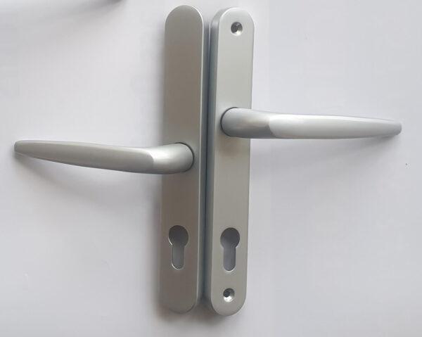 Door handle Trojan  – Silver