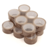 Brown tapes for parcels boxes 6pack